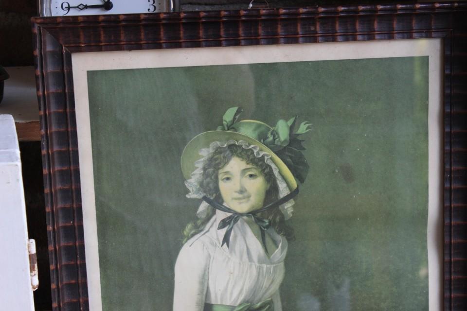 Oud portrait de Madame Seriziat