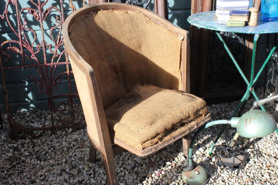 Oude Franse theater stoel