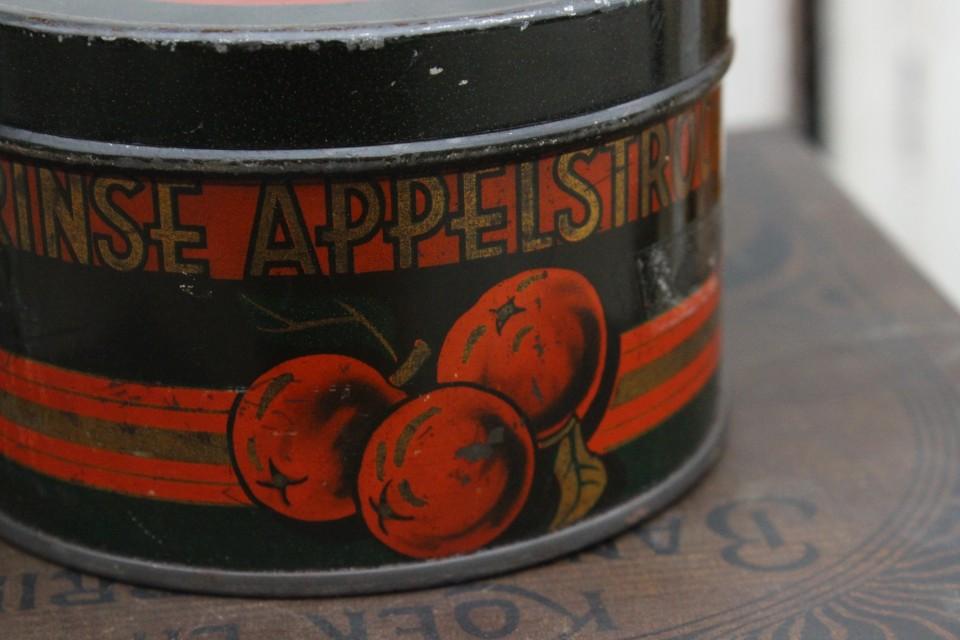 Oud blikje rinse appelstroop