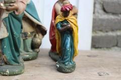 Oud beeld Balthasar klein Kerst groep