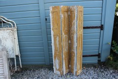 Brocante houten geschakeld 4 luik