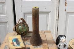 Oude houten spoel