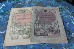 Set oude Franse handwerkboekjes Cartier Bresson