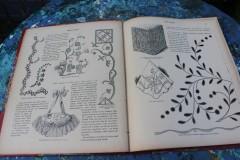 Oud Frans handewerkboek met dike kaft