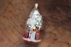 Oude grote kerstman kerstbal