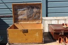 Oude Franse kist Amidon le Chat